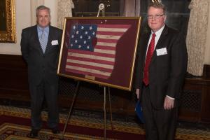 Judge John Kirby - Judge of the Year 2016 with Chapter President Bob Napleton.