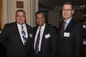 Judge Christopher Lawler, Chief Judge Timothy Evans and Judge Daniel Lynch