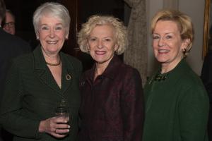 Judge Lorna Propes, Justice Anne Burke and Patti Bobb